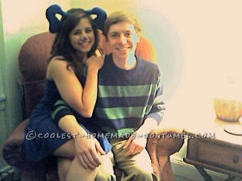 Cute Blues Clues Couple Halloween Costume