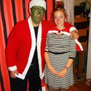 Coolest DIY Cindy Lou Who Halloween Costume