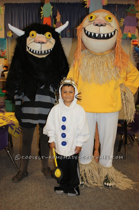 Where The Wild Things Are Homemade Group Family Costume