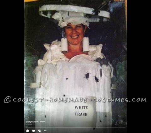 Punny White Trash Halloween Costume