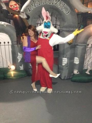 Jessica and Roger Rabbit Couple Costume