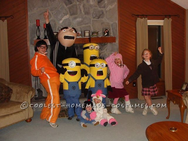 Despicable Me Group Costume for the Entire Family
