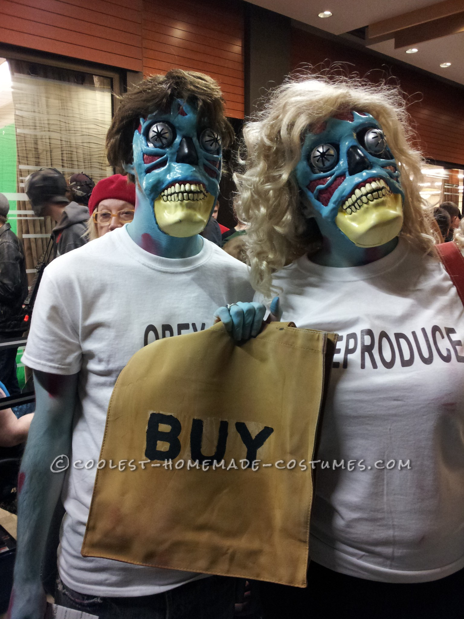 """Wicked Alien Costumes from the Movie """"They Live"""""""