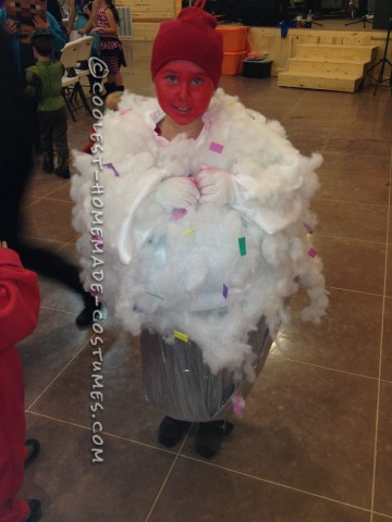 Prize-Winning Homemade Cupcake Costume