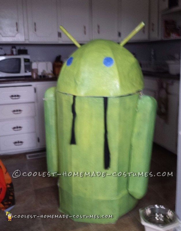 Winning Google Android Costume