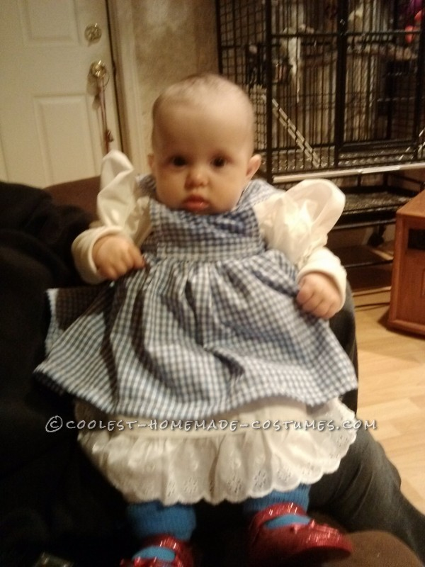 Baby Dorothy Costume from The Wizard of Oz - 3