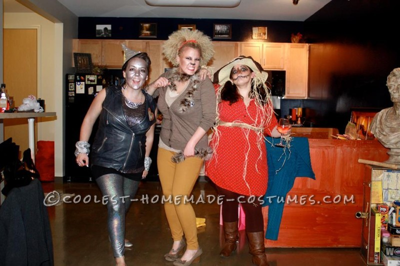 Wizard of Oz Group Costume with Clothes You Can Wear Again