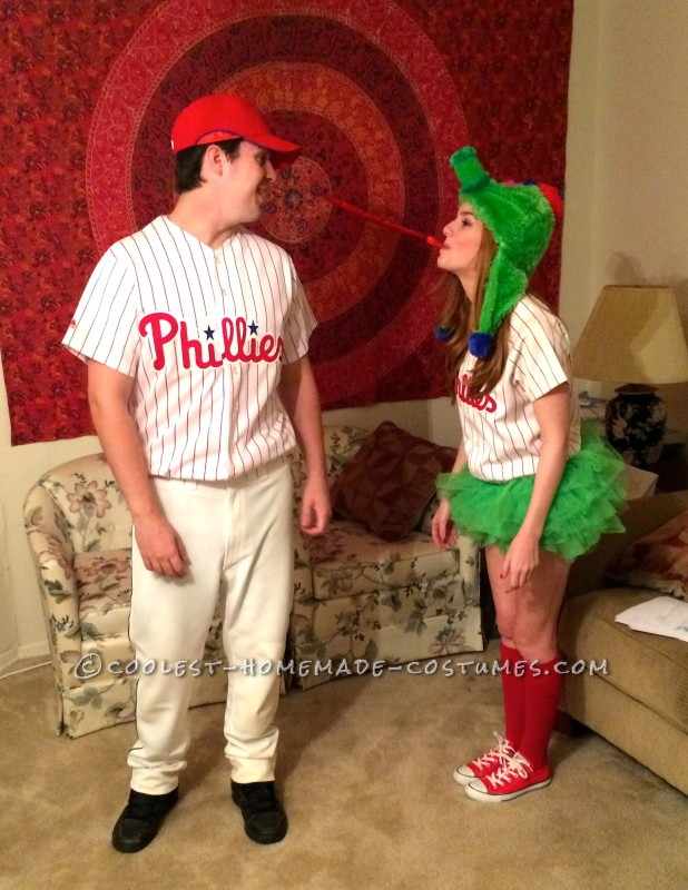 Woman's Phillie Phanatic Costume - 2