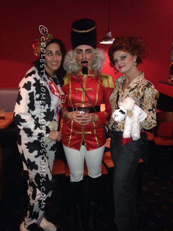 Women's Homemade Nutcracker Costume