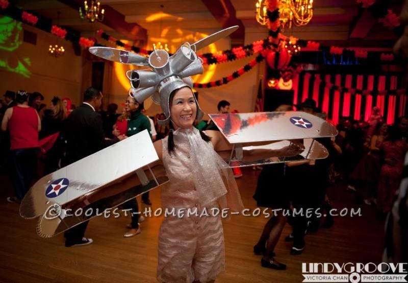 Women's Vintage Bi-Plane Costume