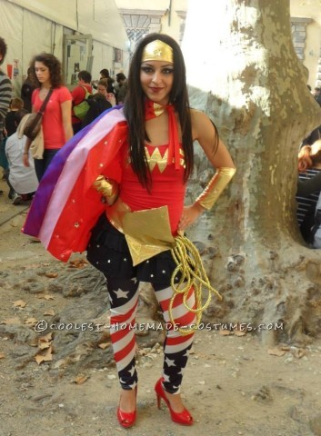 Sexy Wonder Woman (Wonder Kika) Costume