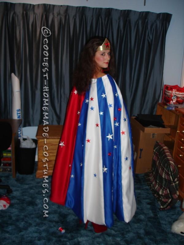 Beautiful Homemade Wonder Woman Costume - 1