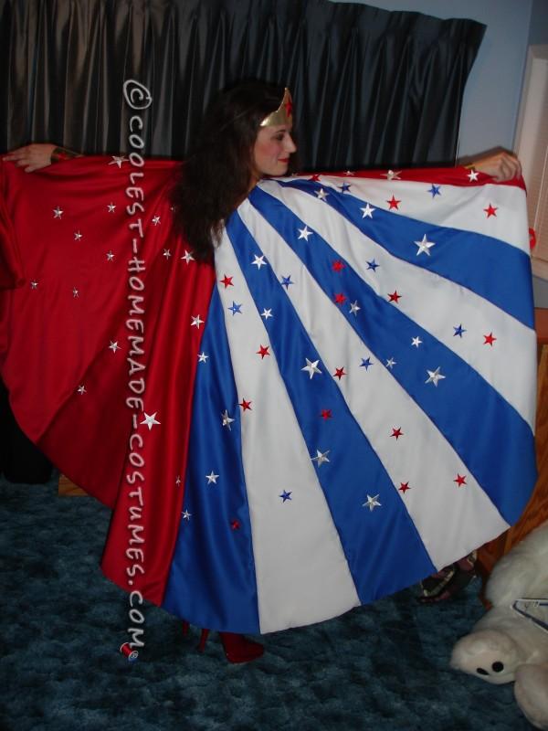 Beautiful Homemade Wonder Woman Costume - 2