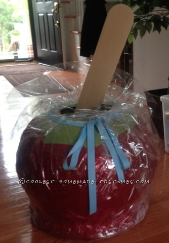World's Best Candy Apple Costume!