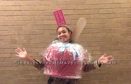 World's Best Candy Apple Costume!
