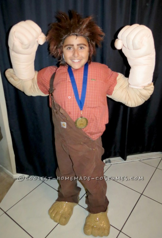 low priced f2cfa 27f1b Wreck-It Ralph Halloween Costume