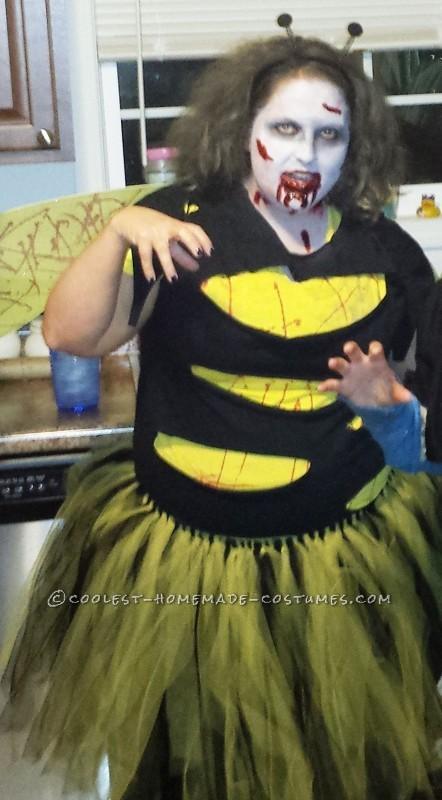 Homemade Zom-Bee Costume