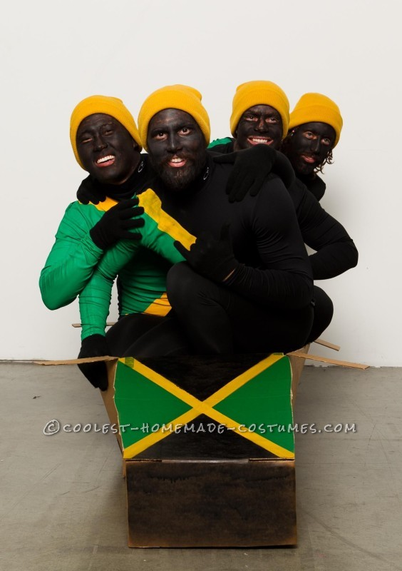 Jamaican Halloween Costume o access jamaicas halloween number 1 costume choice is Cool Runnings Group Halloween Costume