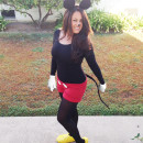 Cute No-Sew Mickey Mouse Costume