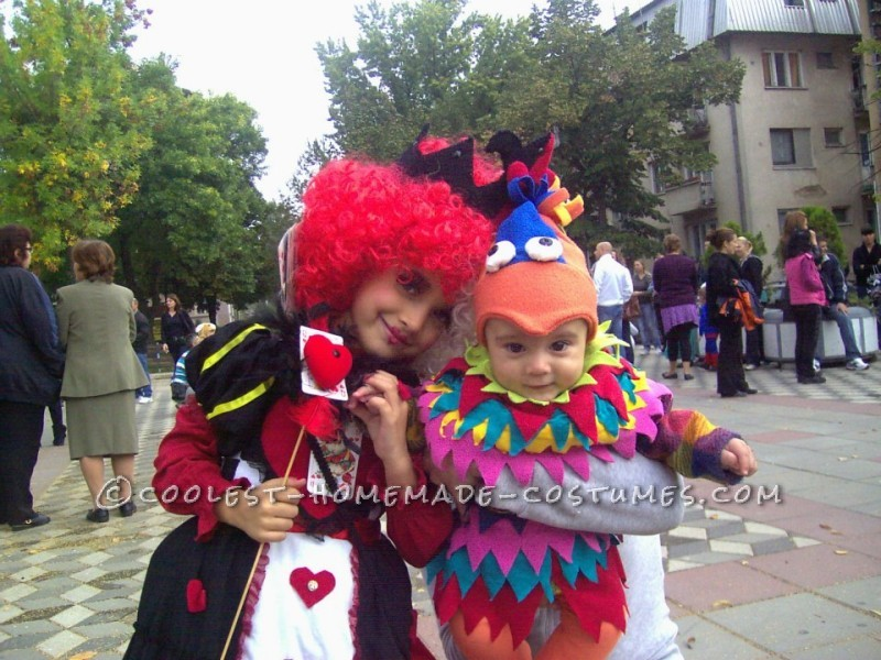 Queen of Hearts DIY Costume for a Girl - 3
