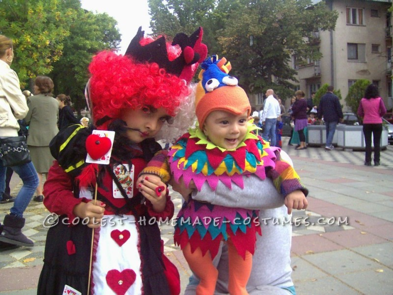 Queen of Hearts DIY Costume for a Girl - 5