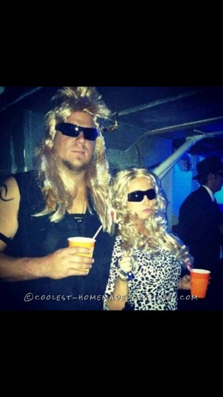 Dog the Bounty Hunter and Beth Couple Costume - 1