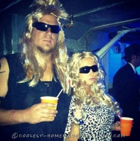 Dog the Bounty Hunter and Beth Couple Costume