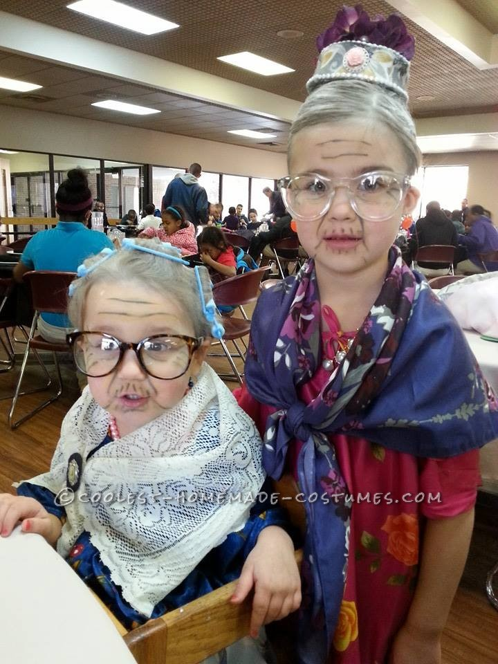 Simple and Easy 100 Year Old Lady Costume