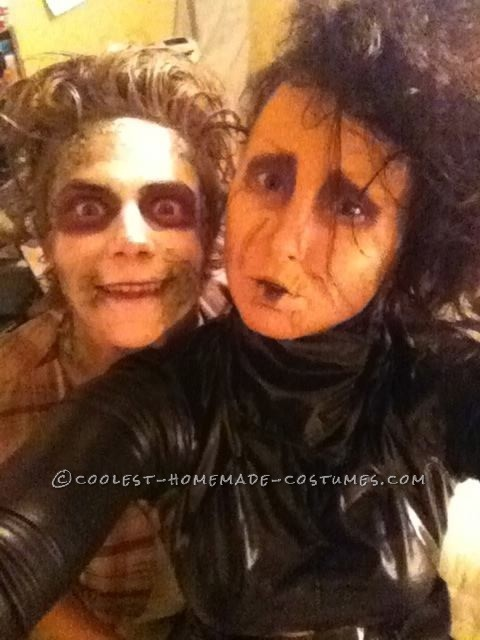 Edward Scissorhands Costume and Makeup Tutorial - 1