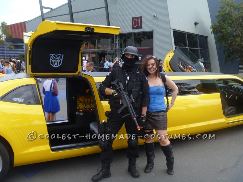Resident Evil' Carlos Oliver and Jill Valentine Couple Costume - 1