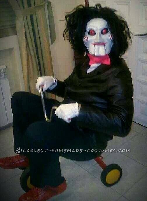 "Billy the Puppet Costume from the Movie ""Saw"""