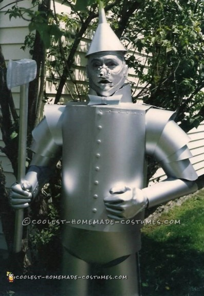 Newly finished Tin Man costume - front view