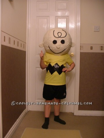 Charlie Brown Costume for World Book Day
