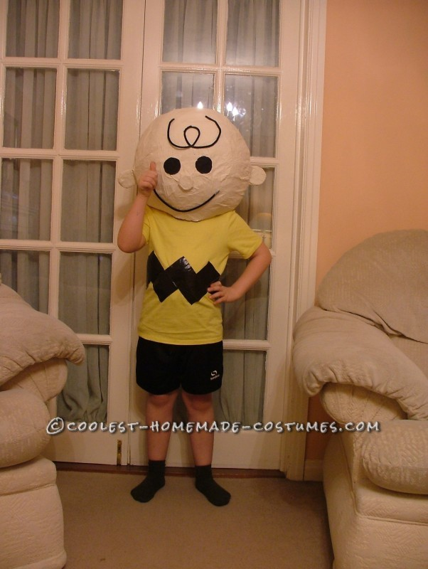 Charlie Brown Costume for World Book Day - 1
