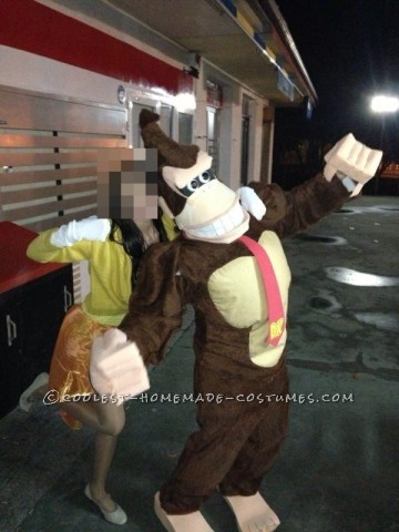 Homemade Donkey Kong Costume