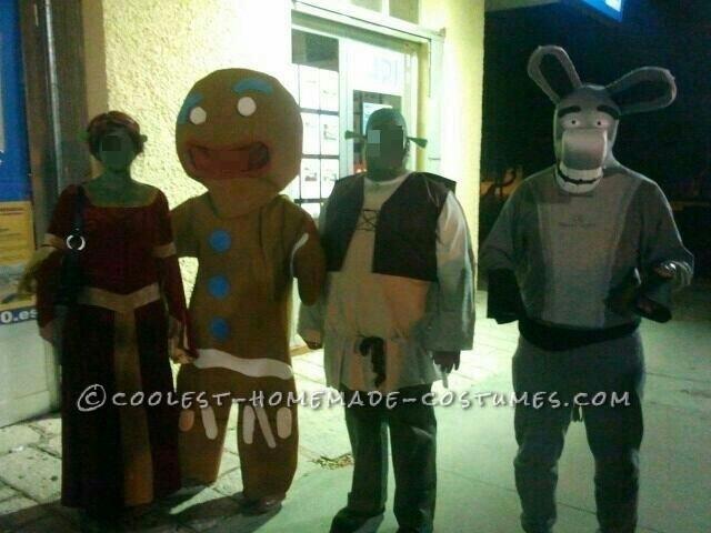 Homemade Donkey Costume from the Movie Shrek