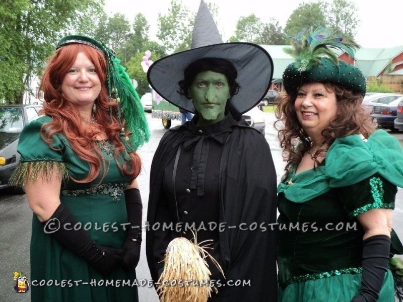 Two Emerald City Ladies and the West Witch.