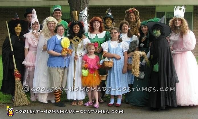Labor of Love Wizard of Oz Costumes