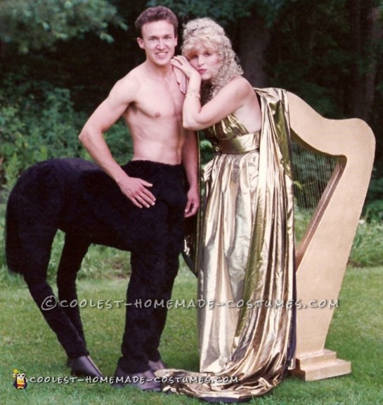Mythological Centaur and Singing Harp Costumes