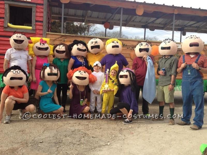 Peanut Gang Costumes Mardi Gras Style