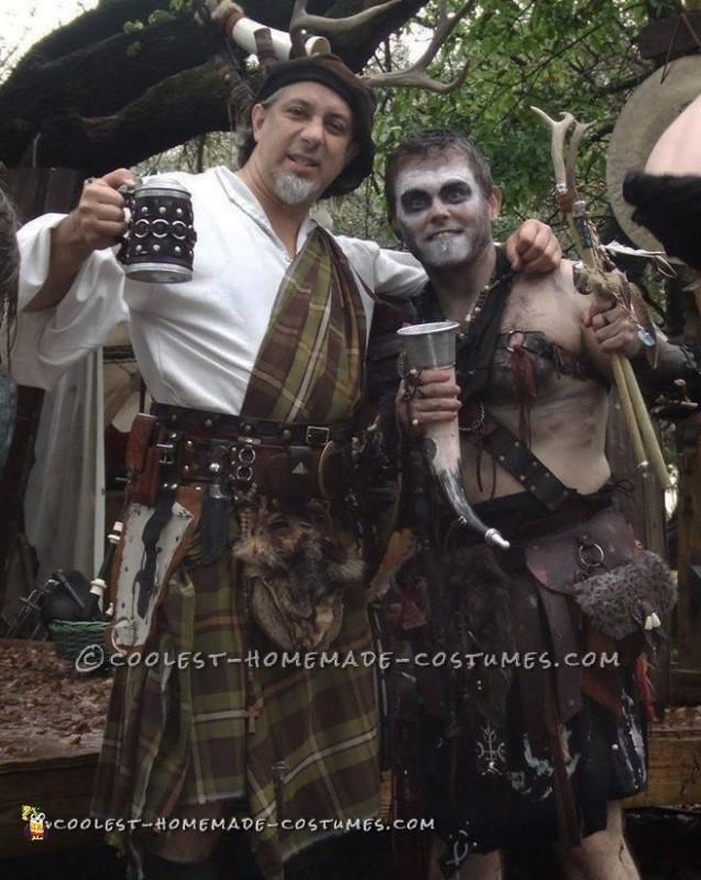 Very Detailed Barbarian / Shaman Costume!
