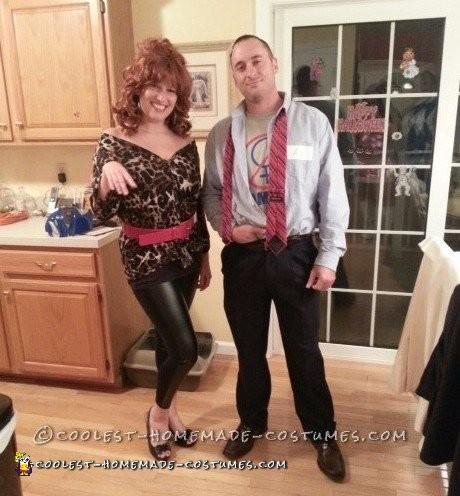 Easiest Al and Peg Bundy costume