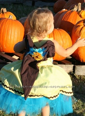 Adorable Last Minute Scarecrow Costume - 1