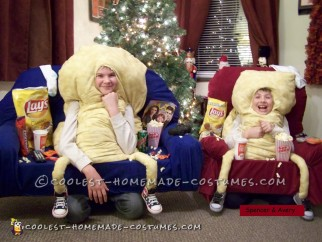 Coolest Couch Potato Costumes