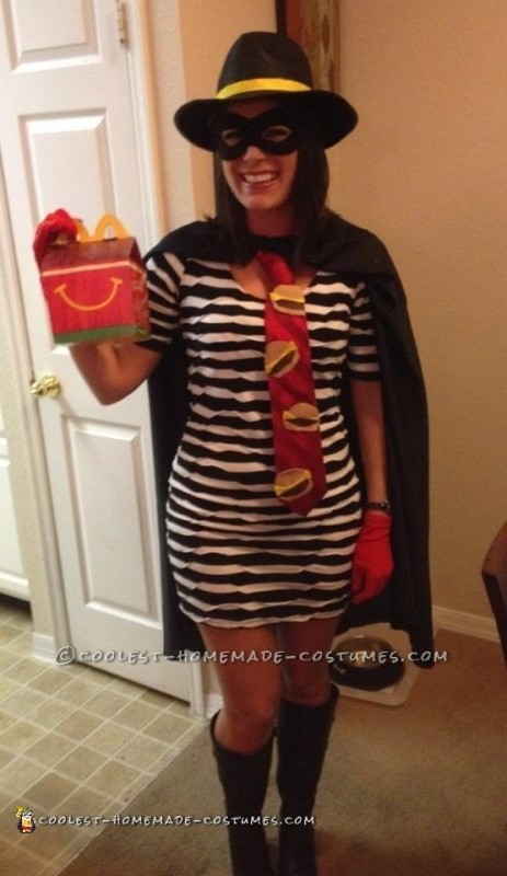 Cool Homemade Hamburglar Costume
