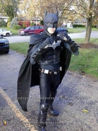 Homemade Batman Costume