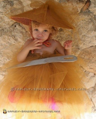 Needle in a Haystack diy costume,last-minute