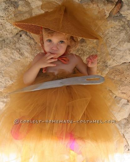Needle in a Haystack diy costume,last-minute