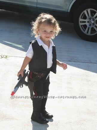 Sweetest Little Miss Han Solo(ette) Costume
