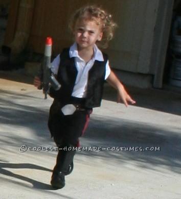 Sweetest Little Miss Han Solo(ette) Costume - 1